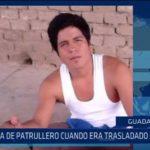 Guadalupe: Escapa de patrullero cuando era trasladado al penal