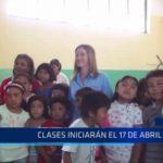 Piura: Ministra anuncia que clases inician este 17 de abril