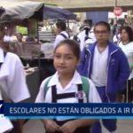 GRELL: Escolares no están obligados a asistir a clases con uniforme