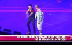 """Luis Fonsi sobre desplante de Justin Bieber: """"No se sabía bien la canción"""""""