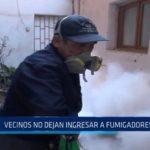 La Libertad: Vecinos no dejan ingresar a fumigadores a sus casas