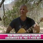 "Gian Marco anunció fecha de lanzamiento de ""Por ti Perú hoy"""