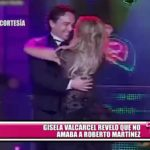 Gisela Valcárcel reveló que no amaba a Roberto Martínez