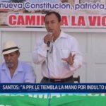 """Gregorio Santos: """"A PPK le tiembla la mano para indultar a Fujimori"""""""