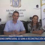 Gremio empresarial se suma a reconstrucción de Trujillo