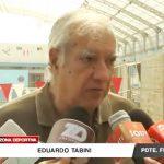 Presidente de la Federación Nacional inspecciona piscina Olímpica