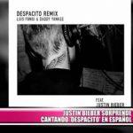 """Justin Bieber sorprende cantando """"Despacito"""" en español"""