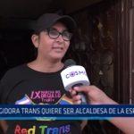 La Esperanza: Regidora Luisa Revilla quiere ser alcaldesa del distrito