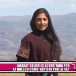 Magaly Solier es acreditada por la UNESCO como Artista por la Paz