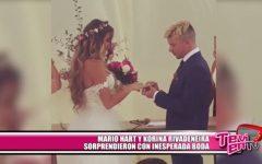 Mario Hart y Korina Rivadeneira sorprendieron con inesperada boda