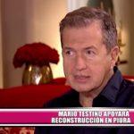 Mario Testino apoyará reconstrucción en Piura