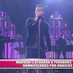Maroon 5 ayudará a peruanos damnificados por huaicos