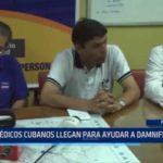 Piura: Médicos cubanos llegan para ayudar a damnificados