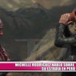 Michelle Rodríguez habló sobre su estadía en Perú