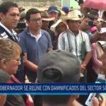 Huanchaco: Gobernador se reúne con damnificados del sector Sol Naciente