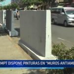 "Trujillo: MPT dispone pinturas en ""muros antiambulantes"""