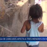 Río Seco: Plaga de zancudos afecta a tres menores