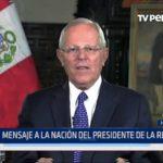 Lima: Mensaje a la Nación del Presidente de la República
