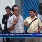 La Libertad: SUTEP recomienda no iniciar aún las clases escolares