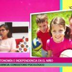 Autonomía e independencia en el niño
