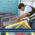 Trujillo: Recuperan gran cantidad de autopartes robadas en urbanización El Bosque