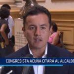Lima: Congresista Acuña citará al alcalde de Lima