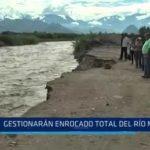 Gestionarán enrocado total del río Moche