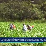 La Libertad: Condonarían parte de deuda a agricultores
