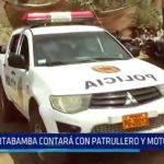 La Libertad: Sitabamba contará con patrulleros y moto policial