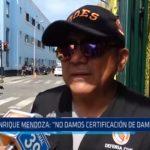 """Subgerente de Defensa Civil: """"No damos certificación de damnificados"""""""