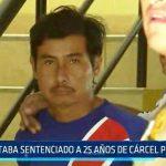 El Milagro: Estaba sentenciado a 25 años de cárcel por crimen