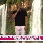 Vin Diesel y el curioso reto que protagonizó en el programa de Jimmy Fallon
