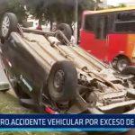 Trujillo: Otro accidente vehicular por exceso de velocidad