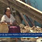 Buenos Aires: Casa de anciana podría colapsar en cualquier momento