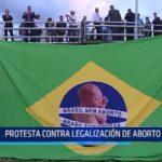 Brasil: Protesta contra legalización de aborto por zika