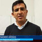 Trujillo: Fernando Armas cuestionó duramente Daniel Salaverry