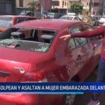 El Porvenir: Golpean y asaltan a mujer embarazada delante de su hija