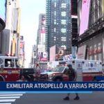 EE.UU.: Ex militar atropelló a varias personas
