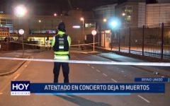 Reino Unido: Atentado en concierto deja 19 muertos