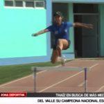 Atletismo: Thaíz Del Valle en busca de más medallas