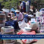 La Libertad: Entregan kits sanitarios a damnificados por El Niño Costero