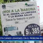 Trujillo: ¿Hasta cuándo lidiaremos con el problema de la basura?