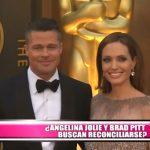 ¿Angelina Jolie y Brad Pitt buscan reconciliarse?