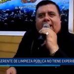"""Regidores MPT: """"Subgerente de Limpieza Pública no tiene experiencia"""""""