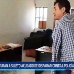 Trujillo: Capturan a sujeto acusado de disparar contra policía en asalto