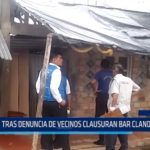 Iquitos: Tras denuncia de vecinos clausuran bar clandestino