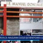 Quiruvilca: Inauguran colegio que beneficiará a 500 alumnos