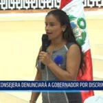 GRLL: Consejera denunciará a gobernador por discriminación