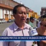 La Libertad: Consejero por Santiago de Chuco se solidariza con su provincia