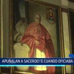 México: Apuñalan a sacerdote cuando oficiaba misa